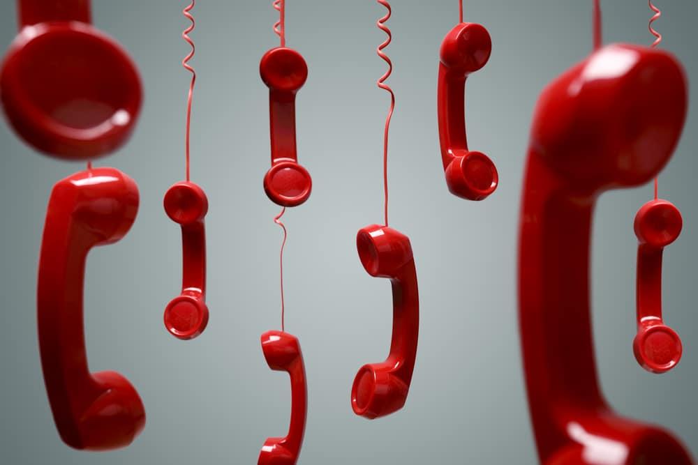 電話番号が怪しい 固定電話・フリーダイアルが基本